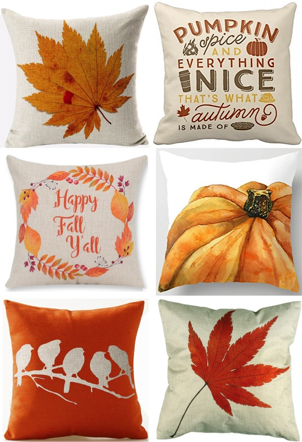 30 Fall Pillow Covers Frugal Autumn Decor  The Frugal