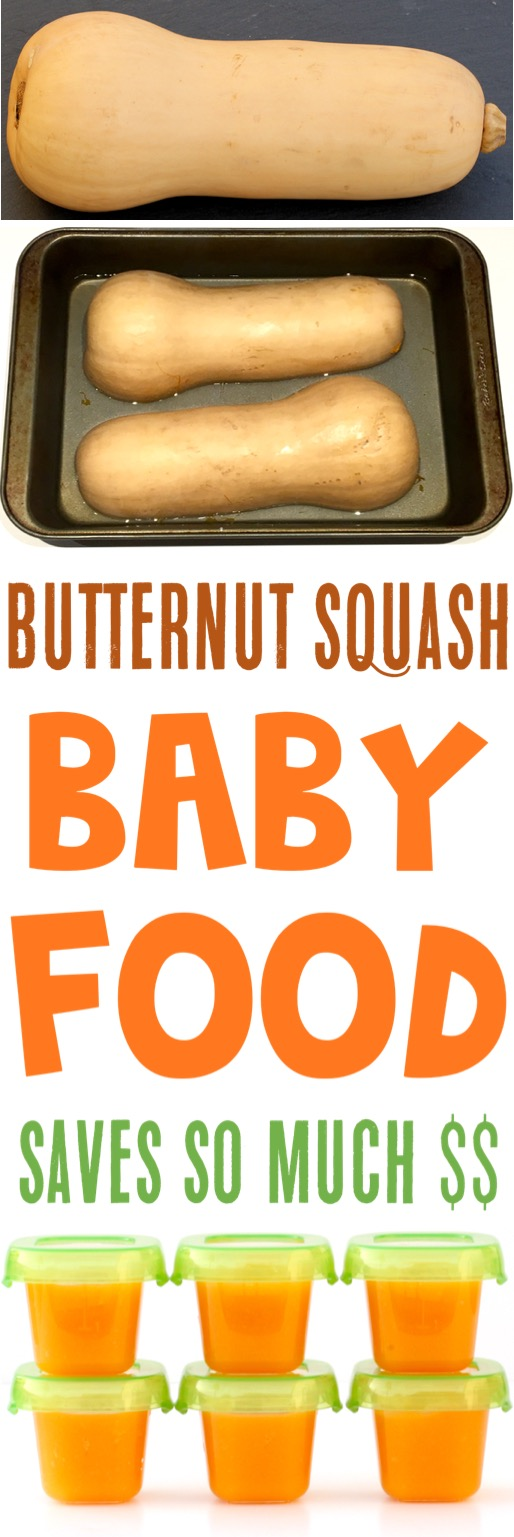 Homemade Baby Food Stage 1 Recipes Butternut Squash