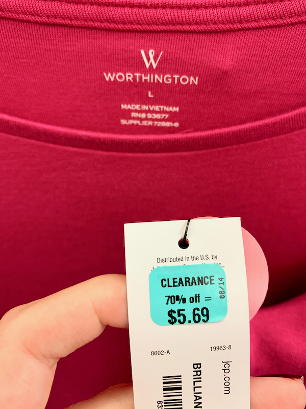 JCPenney Clearance Deals