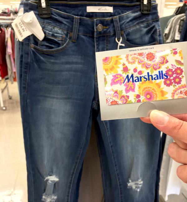 Free Marshalls Gift Card! {Genius Tip}