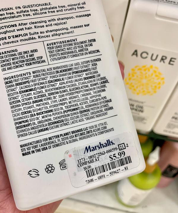 Marshalls Beauty Products