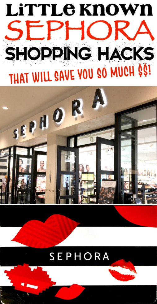 Sephora Hacks and Must Haves How to Get a Free Gift Card for Makeup and Lip Stain