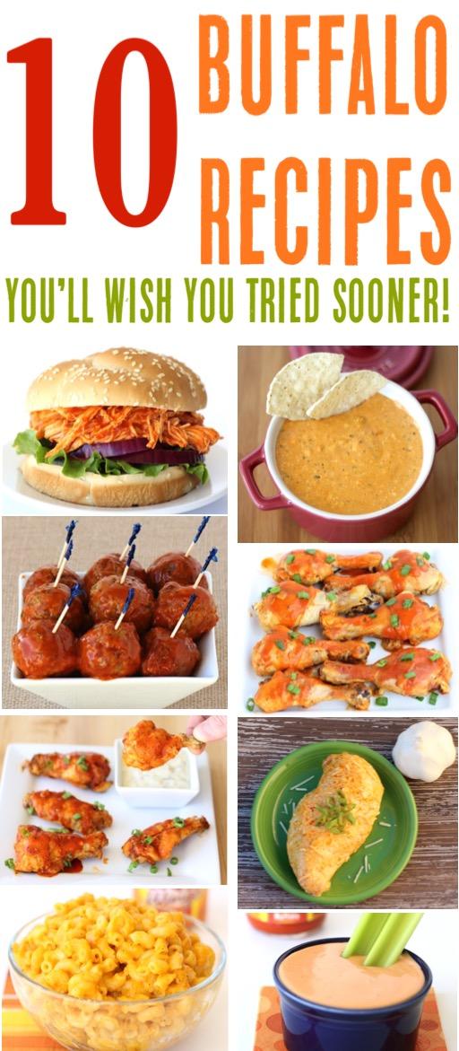 Buffalo Chicken Recipes Easy