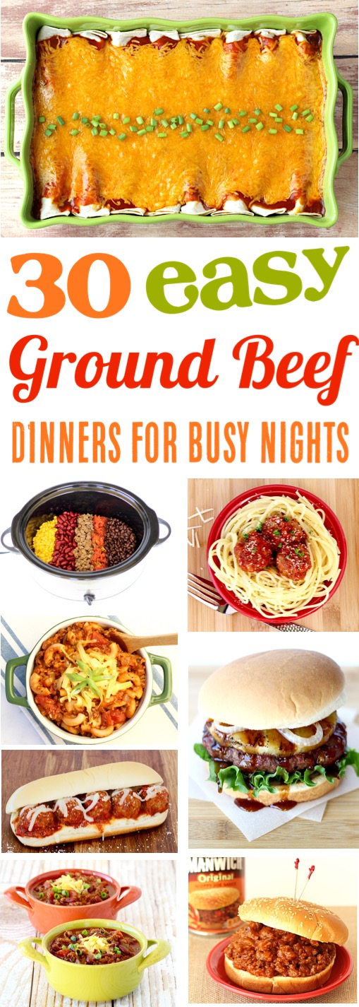 Beef Recipes for Dinner Easy Main Dishes
