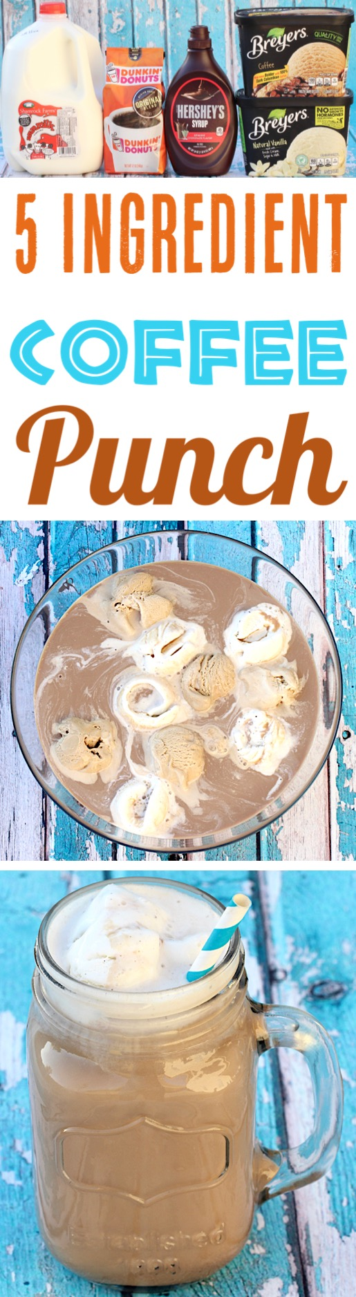 Coffee Punch with Ice Cream Easy Recipes