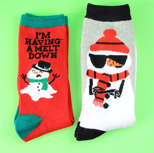 Funny Silly Socks for Stocking Stuffers