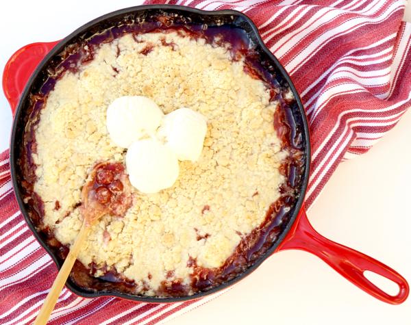 Cherry Crisp Recipe Easy