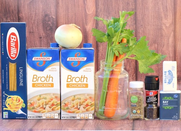 Easy Healthy Chicken Noodle Soup Recipe