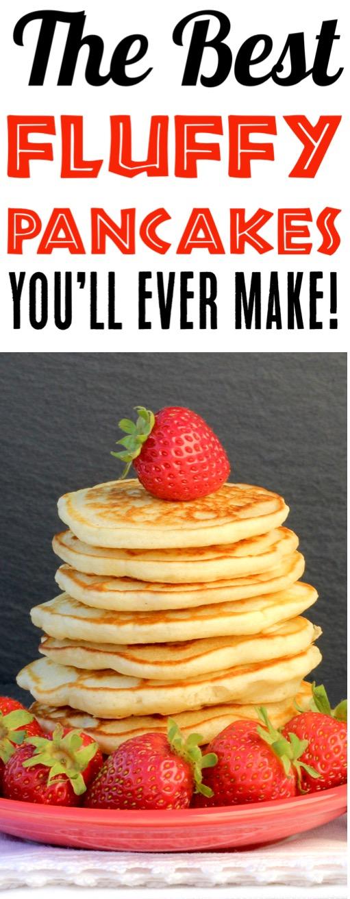 Fluffy Pancakes Easy Recipe