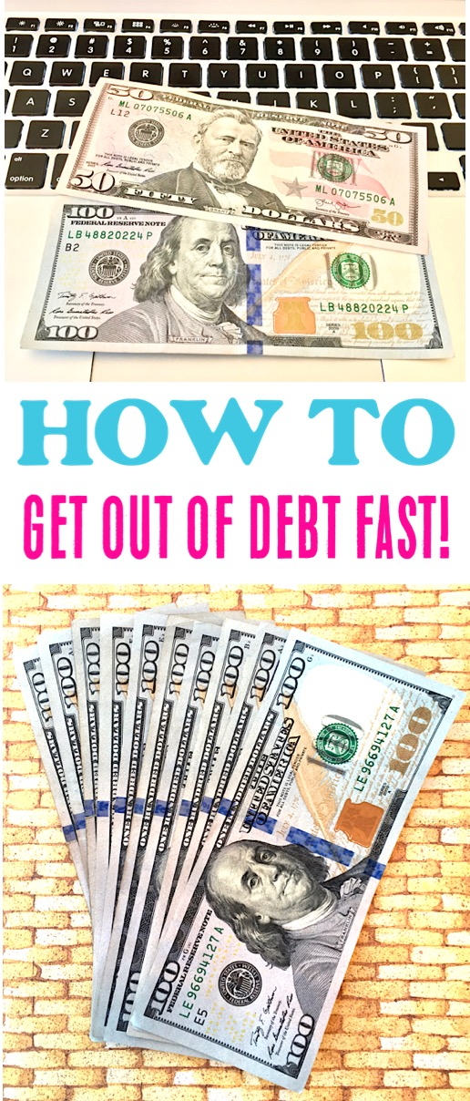 Get Out of Debt Fast Tips and Plan