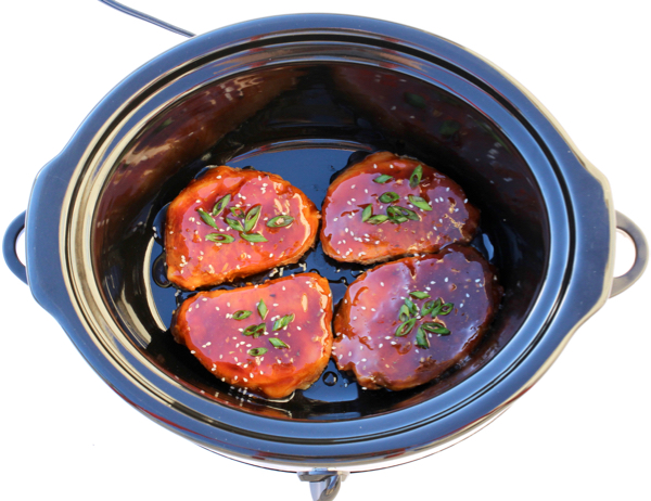 Honey Garlic Pork Chops Crock Pot Recipe