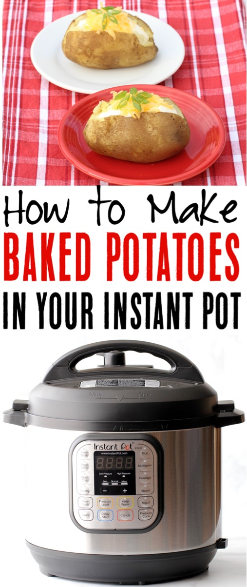 Instant Pot Potato Recipes How to Make Baked Potatoes in your Pressure Cooker