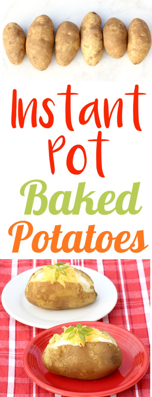 Instant Pot Potatoes Baked in your Pressure Cooker