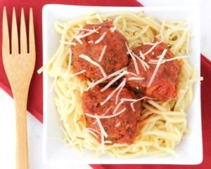 Pressure Cooker Italian Meatballs Recipe {Instant Pot} at TheFrugalGirls.com