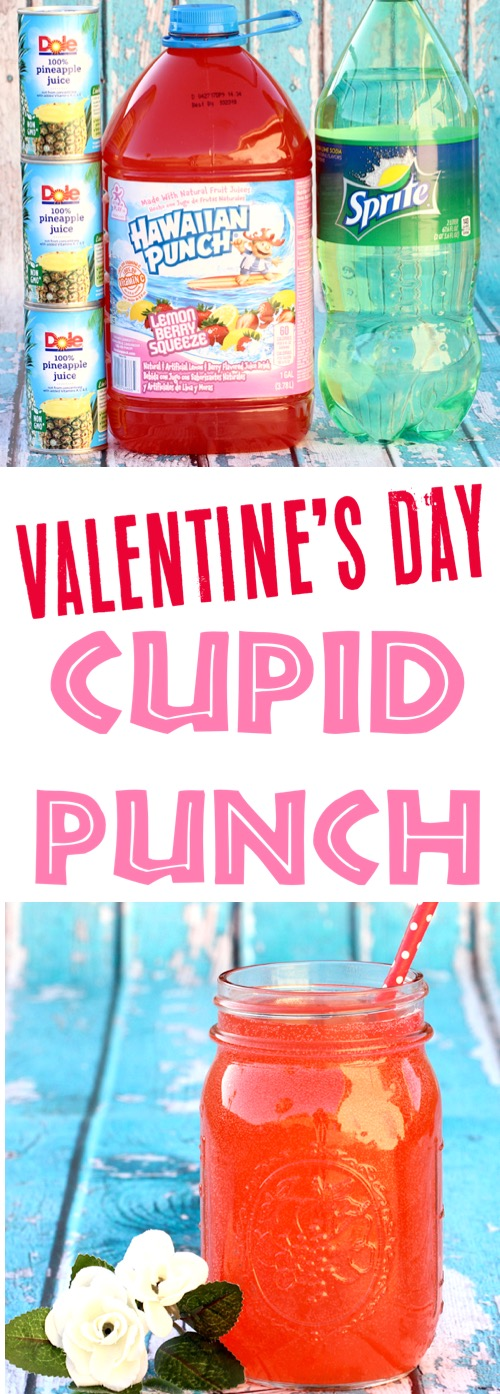 Valentines Day Recipes Easy Punch for Kids Party or Dinner