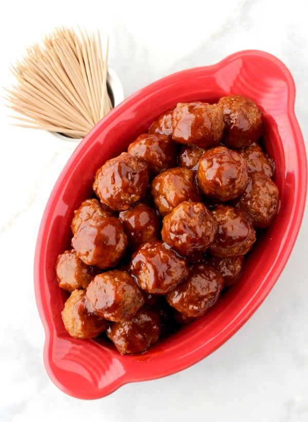 Instant Pot Meatballs Appetizer Recipe