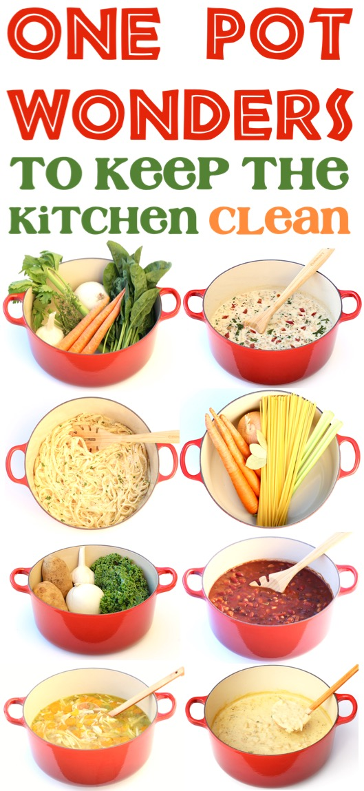 One Pot Wonder Recipes Easy Meals to Keep the Kitchen Clean