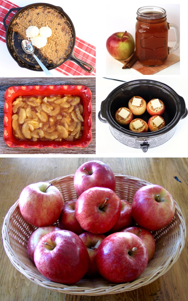 Apple Recipes to Make This Fall from TheFrugalGirls.com