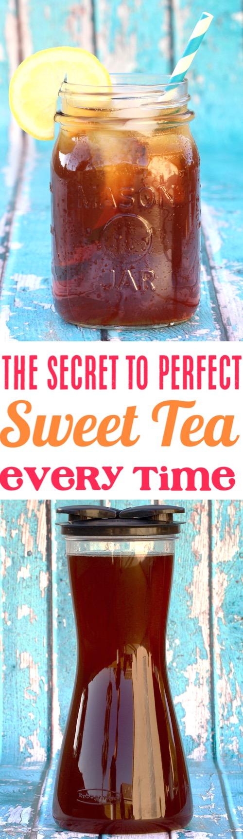 Iced Tea Recipes Homemade Sweet Tea