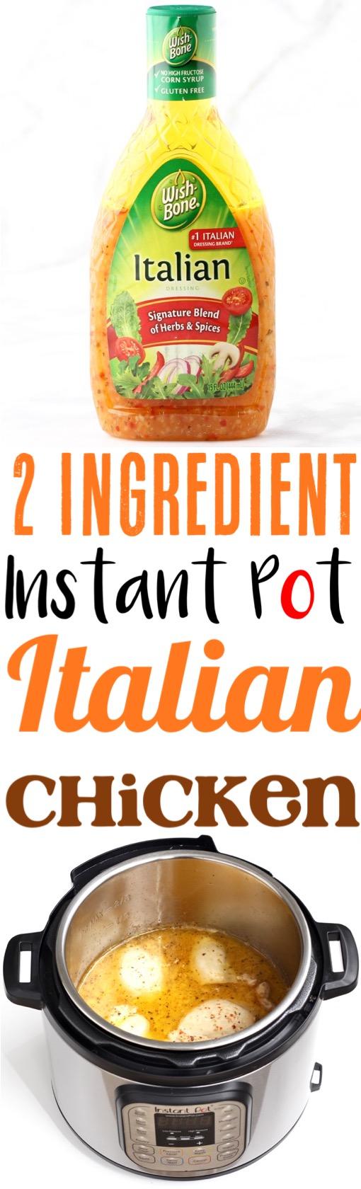 Instant Pot Chicken Recipes Italian