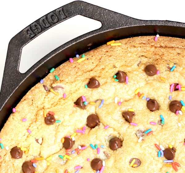 Cast Iron Skillet Chocolate Cookie