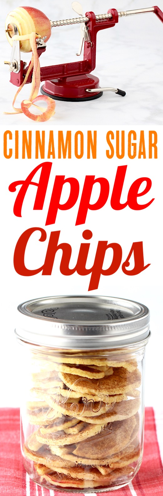 Apple Chips Recipe Easy Healthy Snack Made in your Dehydrator
