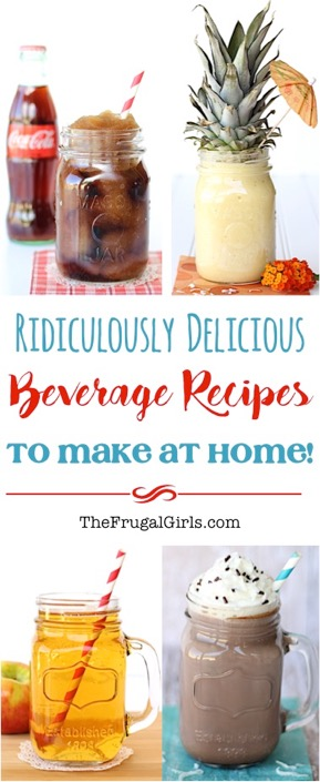 Delicious Beverage Recipes to Make at Home