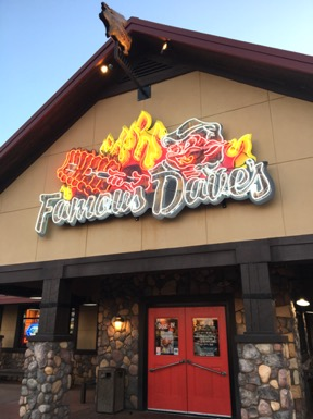 Famous Dave's Birthday Club