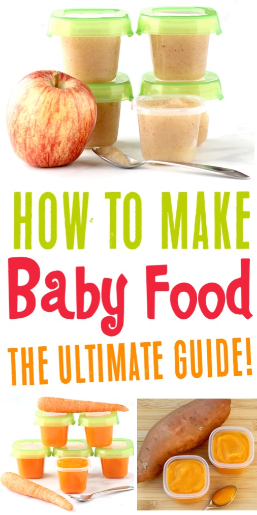 Baby Food Recipes Homemade Pureed Recipe Ideas for Stage 1, 6-9, and 9-12