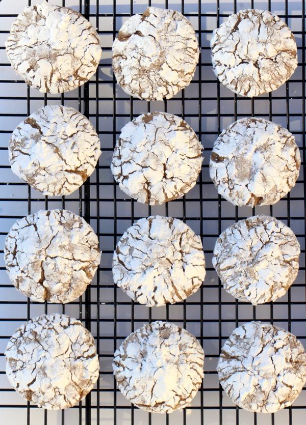 Cinnamon Crinkle Cookies Recipe