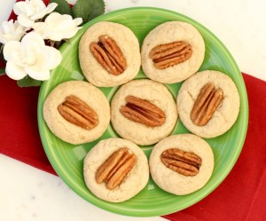Easy Pecan Thumbprint Cookies Recipe