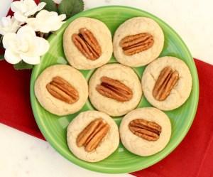 Easy Pecan Thumbprint Cookies Recipe