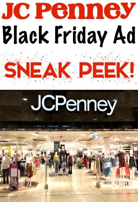 Black Friday Tips JC Penney Ad Sneak Peek