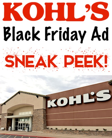 Kohl's Black Friday Ad Sneak Peek