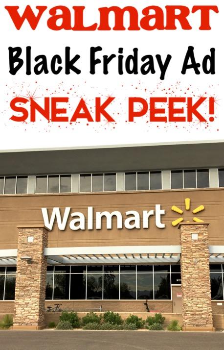 Walmart Black Friday Ad Sneak Peek