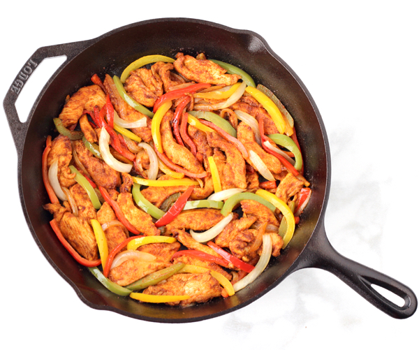 Cast Iron Skillet Chicken Fajitas Recipes