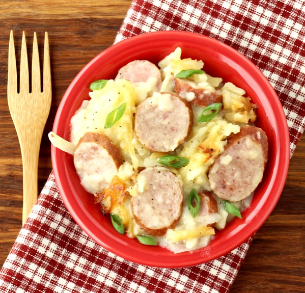 Crockpot Sausage and Potatoes Recipe Easy Dinner