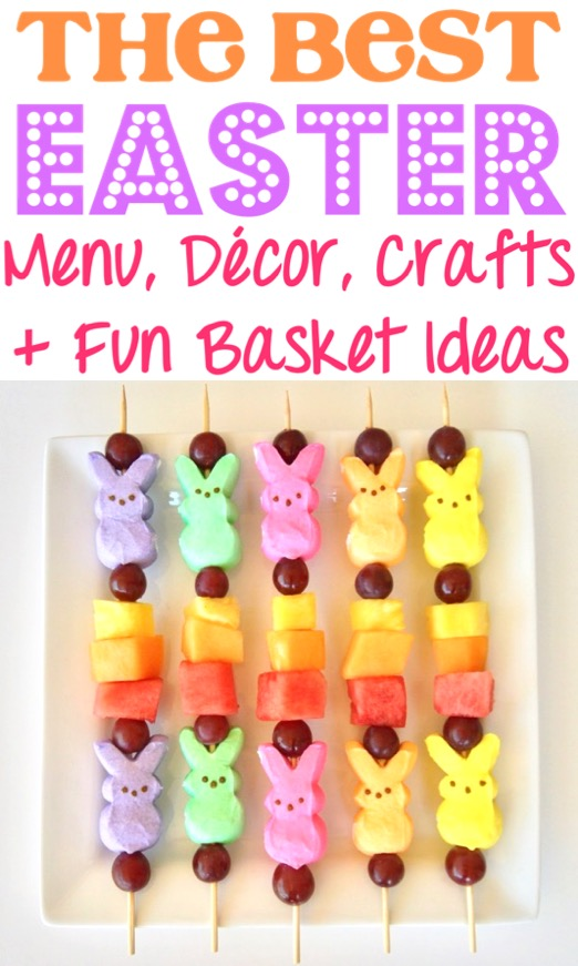Easter Decorations Crafts Basket Ideas and Menu