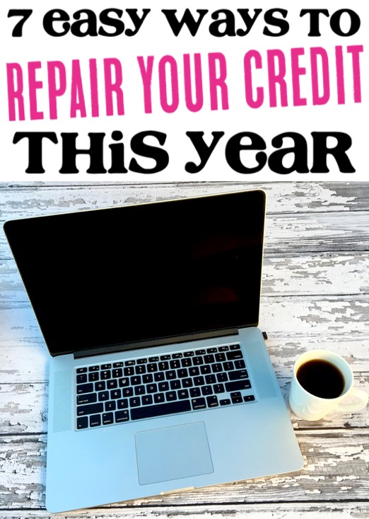 How to Repair Credit Score Fast Tips