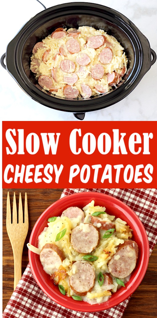 Slow Cooker Hashbrown Casserole - Delish dish for Breakfast or Dinners