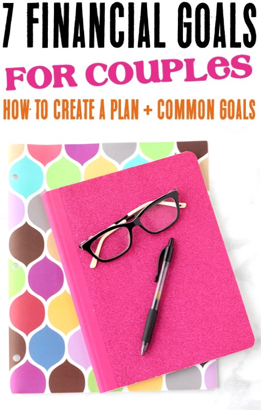 Financial Planning and Organization - How to Achieve Financial Peace with Common Goals for Couples