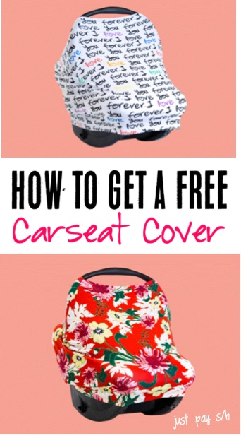 Car Seat Covers for Cars - Skip the DIY, and get your own Free Automotive Carseat Canopy Cover - Just pick your favorite pattern