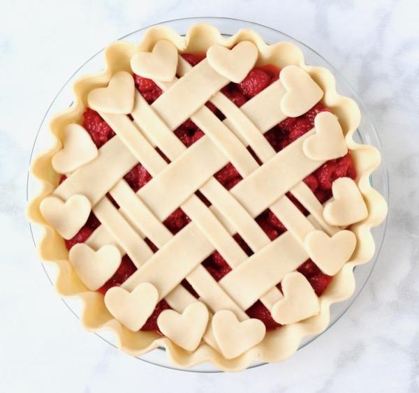 Homemade Raspberry Pie Recipe