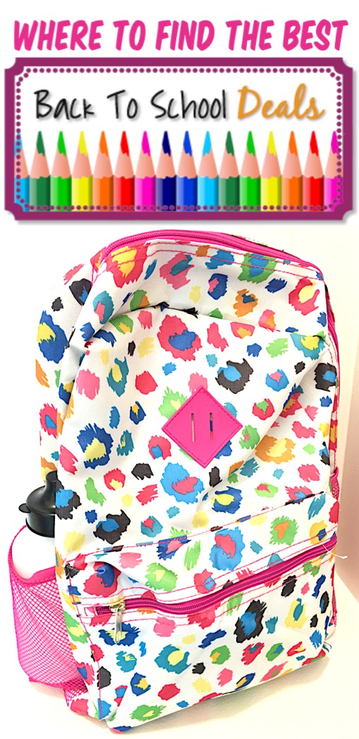 Back to School Outfits and Supplies - How to Save Money for Elementary to High School Clothes and School Supplies