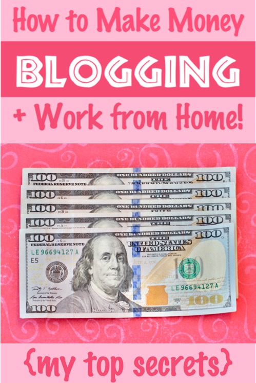 Blogging for Beginners Money Tips - How to Make Money Blogging from Home