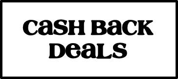 Cash Back Deals