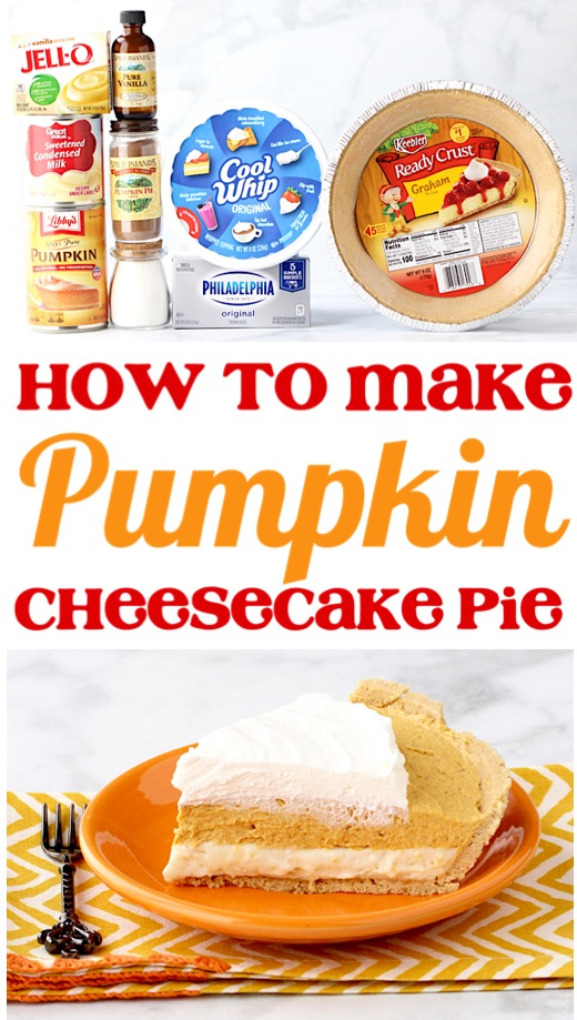 Pumpkin Cheesecake Recipes | Easy No Bake Homemade Pumpkin Pie Recipe