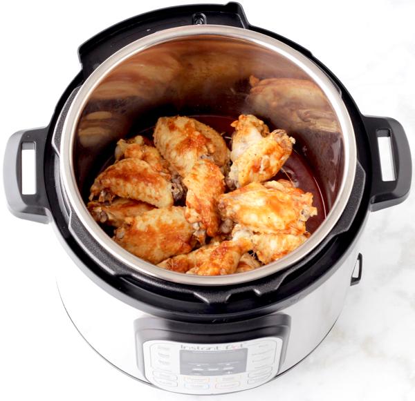 Instant Pot BBQ Chicken Wings Recipe