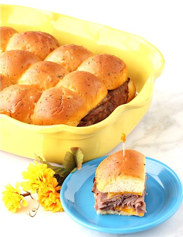 Mini Roast Beef Sliders Recipe Easy