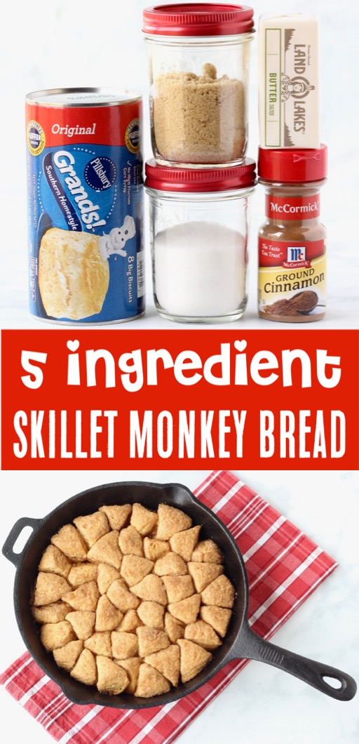Monkey Bread with Canned Biscuits Easy Recipe